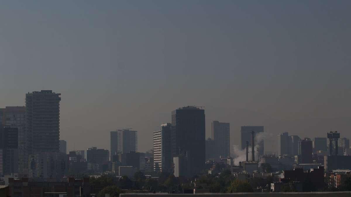 El Valle de México sigue con altas concentraciones de ozono