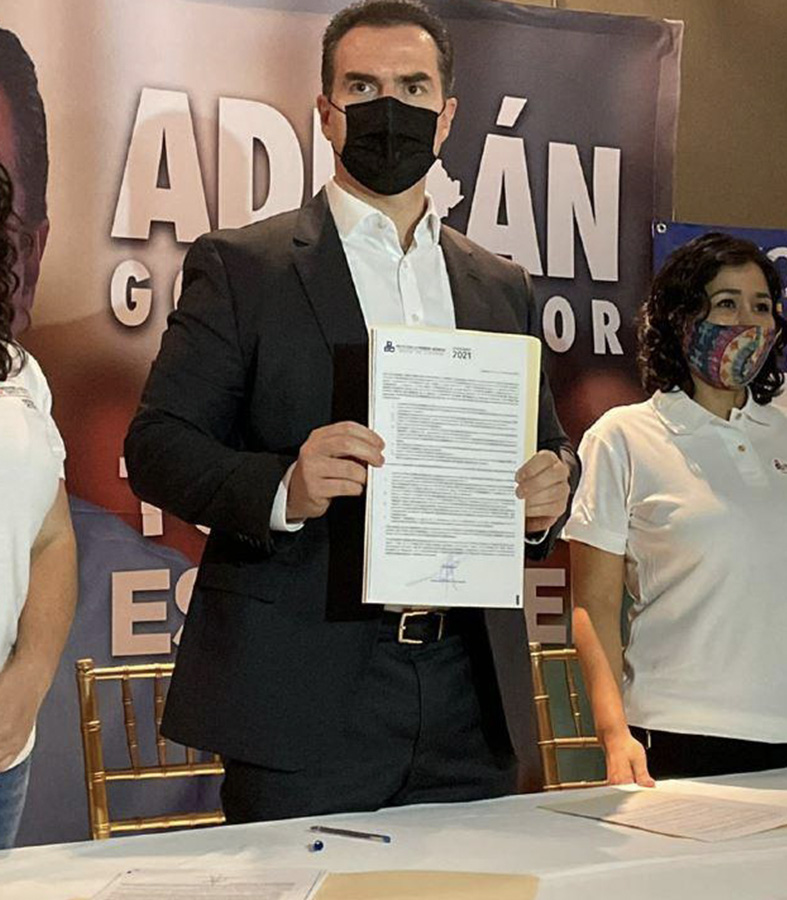 """Firma Adrián """"Pacto por la Primera Infancia"""""""