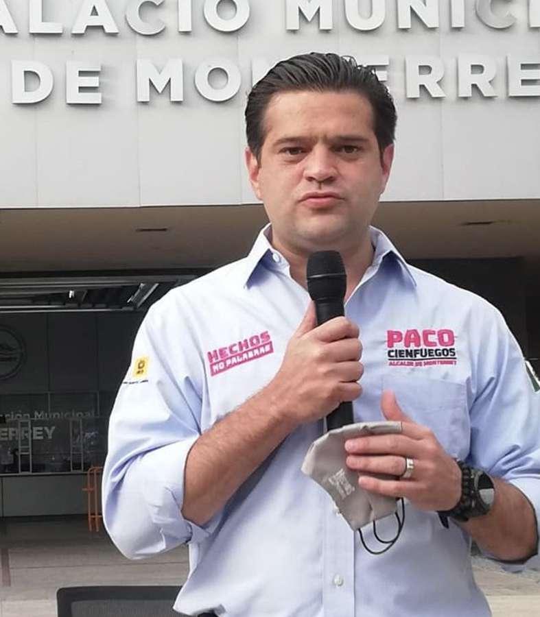 Miércoles ciudadanos para Monterrey propone Paco Cienfuegos.