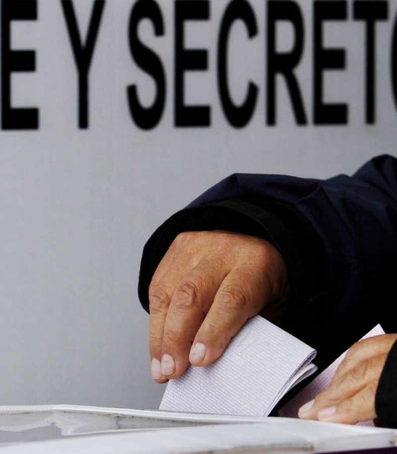 El protocolo sanitario para la jornada electoral ya lo dictó la Federación.