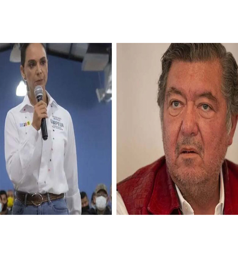"Llama candidato del PES ""basura"" a Lupita Jones."