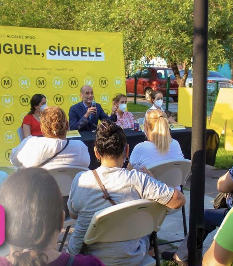Los programas que benefician a la mujer, continuarán en San Pedro
