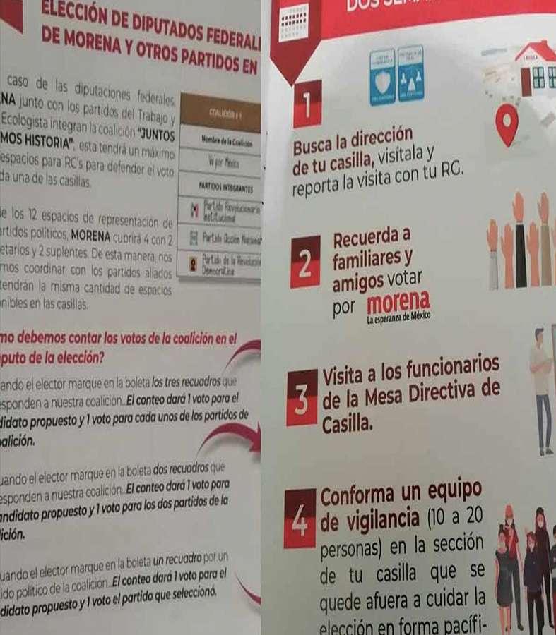 Supuesto manual de Morena, vulnera las normas, INE