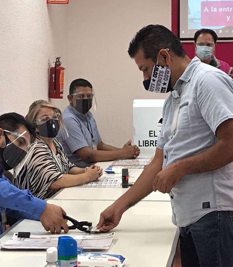 INE hace simulacro del día de las Elecciones para presentar protocolo COVID