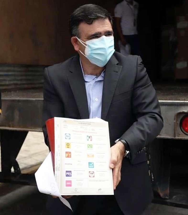 Ya están en Monterrey las boletas electorales para elegir Gobernador de Nuevo León