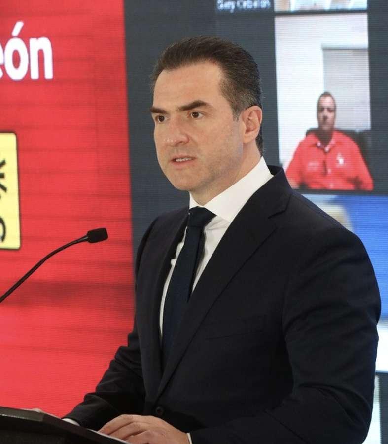 Dice Adrián de la Garza que la inversión que logrará traer al estado, hará historia en Nuevo León