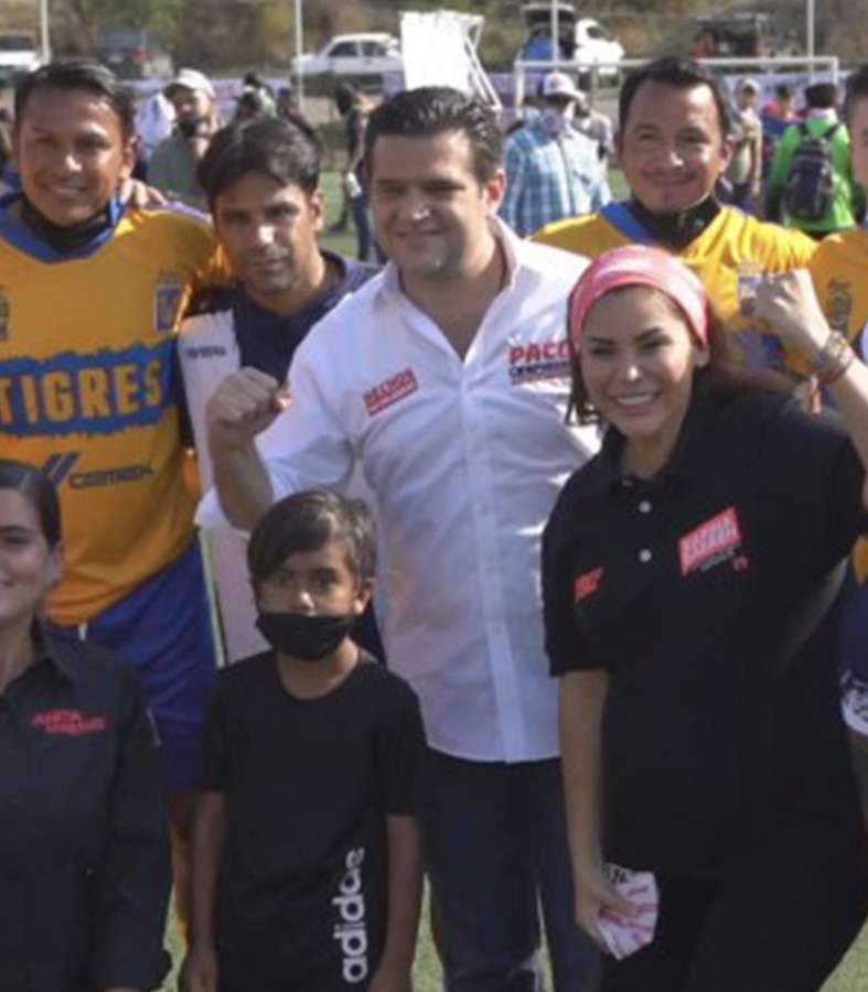 Paco Cienfuegos organiza Torneo de Barrios con el apoyo de ex-jugadores de Tigres y Rayados