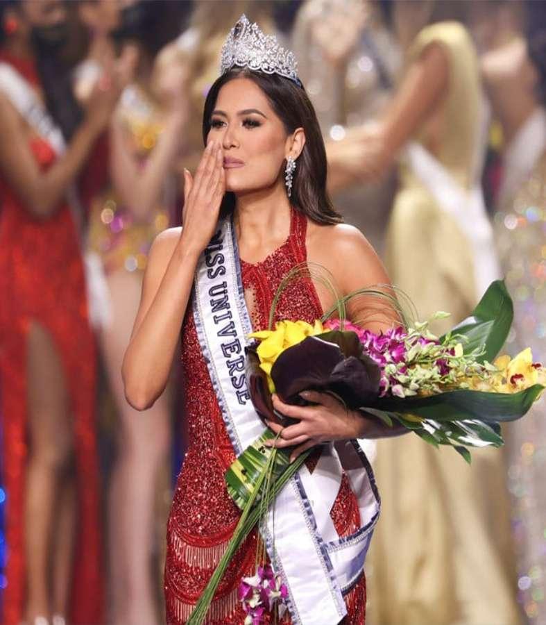 La mexicana Andrea Meza gana Miss Universo 2021