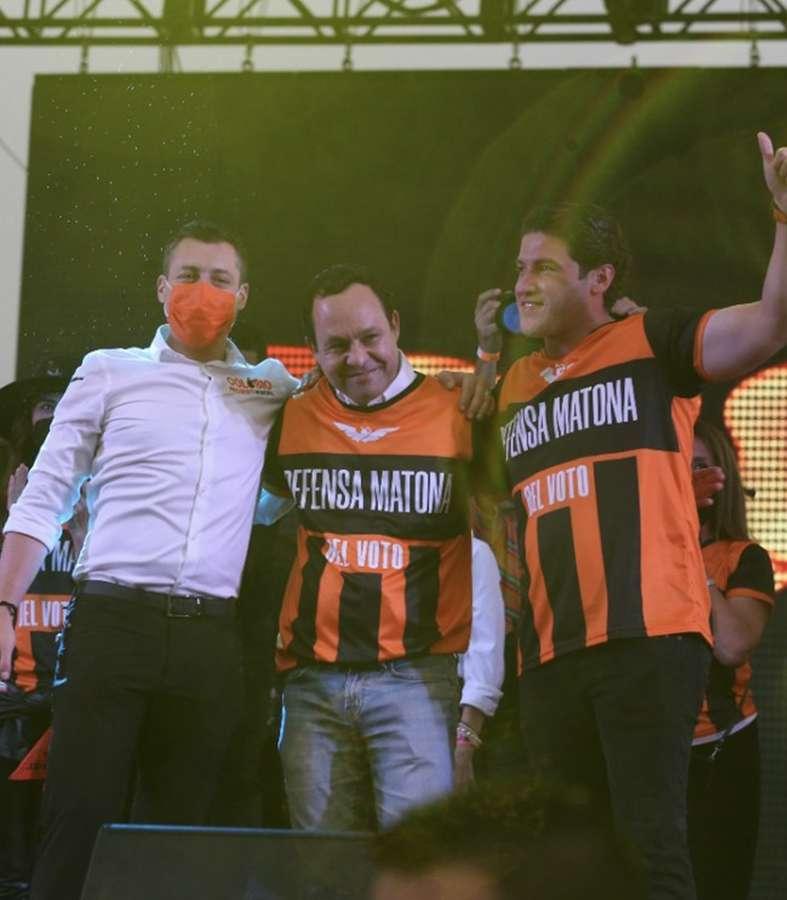 Cierra con éxito campaña Samuel García en Nuevo León.