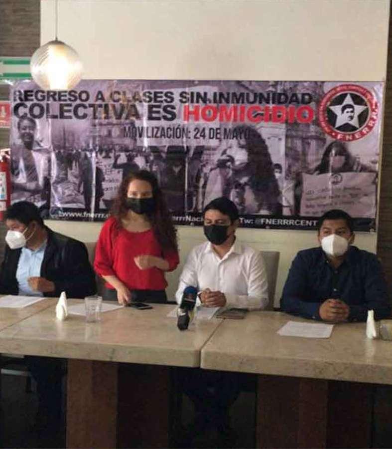 Estudiantes marcharán en CDMX en contra del regreso a clases por riesgo de COVID