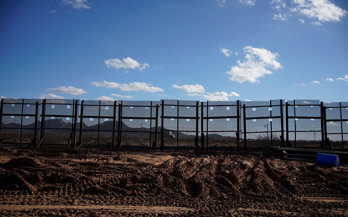 El Pentágono cancela construcción del muro fronterizo entre México y EU