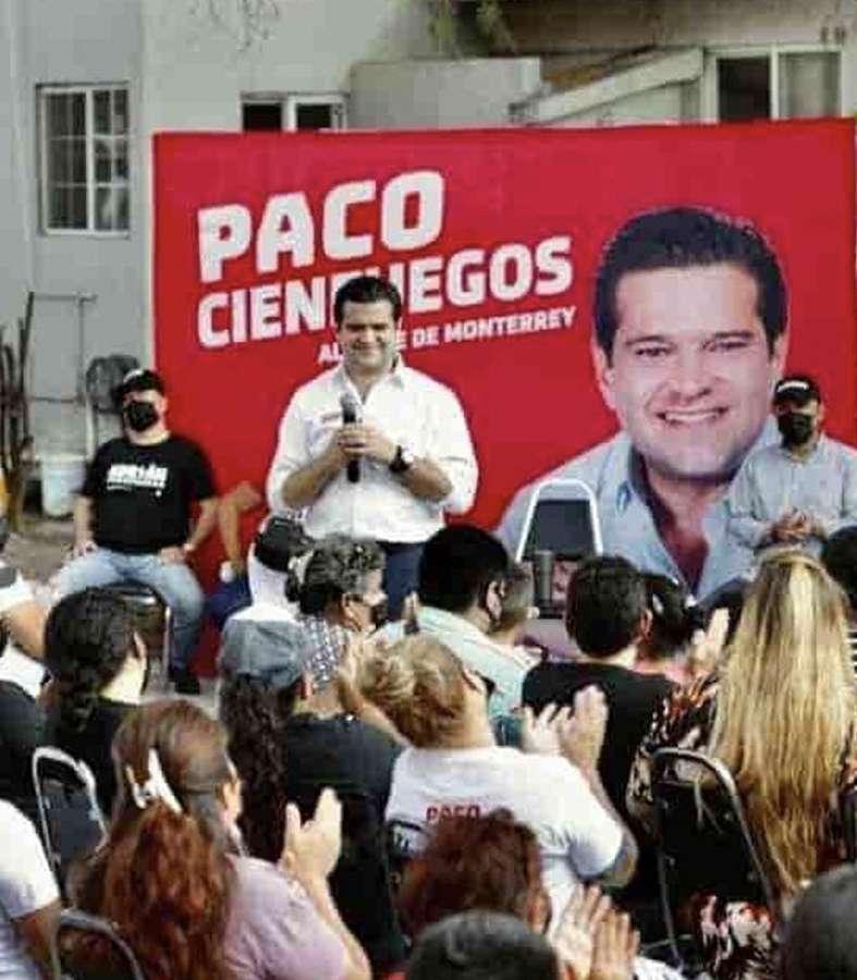 Paco Cienfuegos presenta programa de apoyo a niños con cáncer en Monterrey.