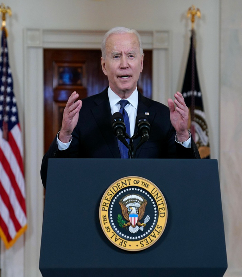Joe Biden confirmó el alto al fuego entre Israel y Hamas, que ya entró en vigor