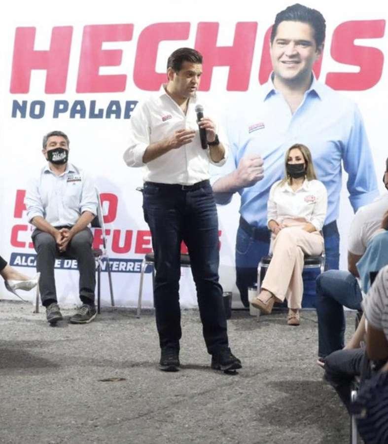 Francisco Cienfuegos muestra ventaja en la elección en Monterrey.